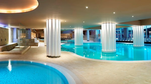 Swimming pools with heated sea water - Sea Spa