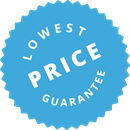 You will always find the lowest price on our website.